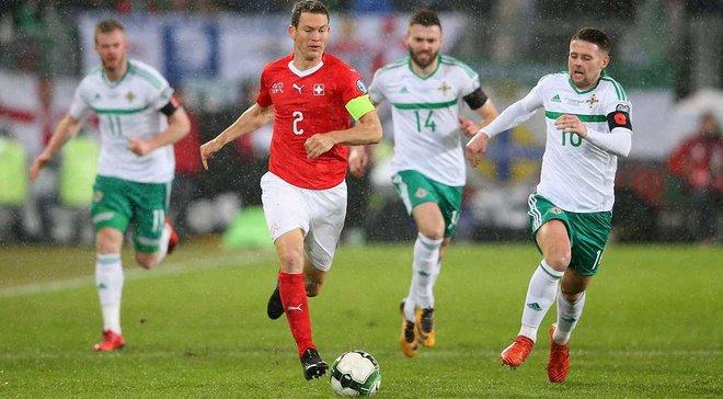 Швейцарія – Північна Ірландія – 0:0 – Відеоогляд матчу