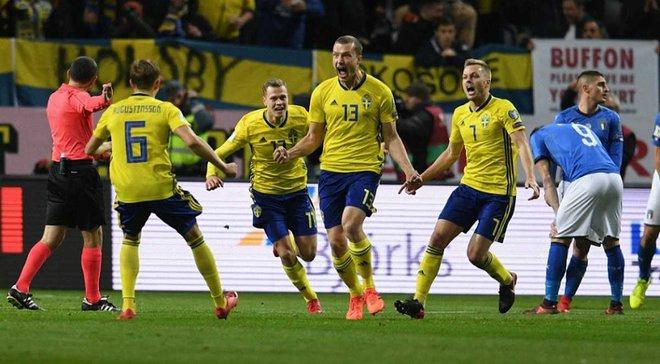 Италия – Швеция: анонс матча отбора к ЧМ-2018