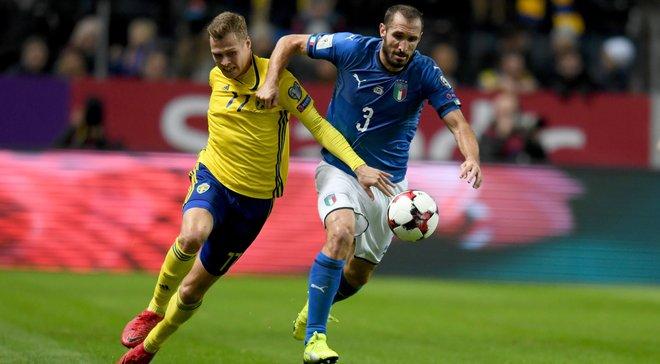 Италия – Швеция: где смотреть матч плей-офф отбора к ЧМ-2018