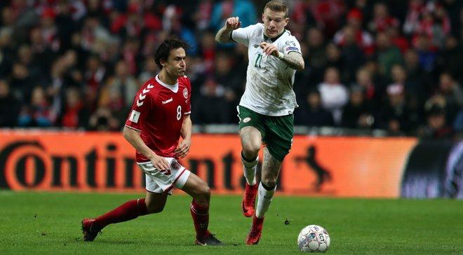 Ирландия – Дания: прогноз на матч плей-офф отбора к ЧМ-2018