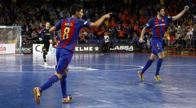 Футзалісти Барселони забили неймовірний гол після блискучої комбінації