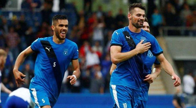 Косово в невероятном матче победило Латвию