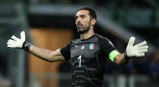 Буффон аплодував гімну Швеції під час його освистування італійськими фанатами