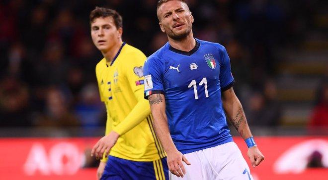 Італія не перемогла Швецію та втретє в історії не зіграє на чемпіонаті світу