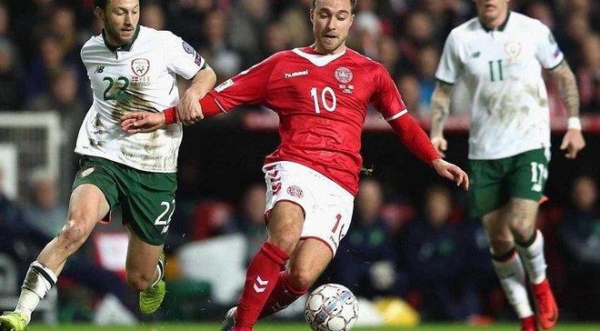 Ірландія – Данія: анонс матчу відбору до ЧС-2018