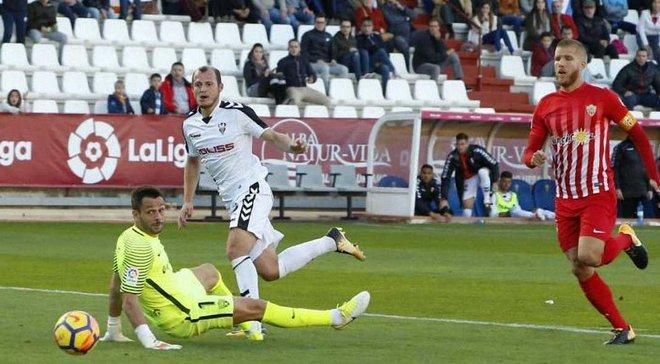 Зозуля знову потрапив у символічну збірну Сегунди і став новим ідолом фанатів Альбасете, – іспанські ЗМІ
