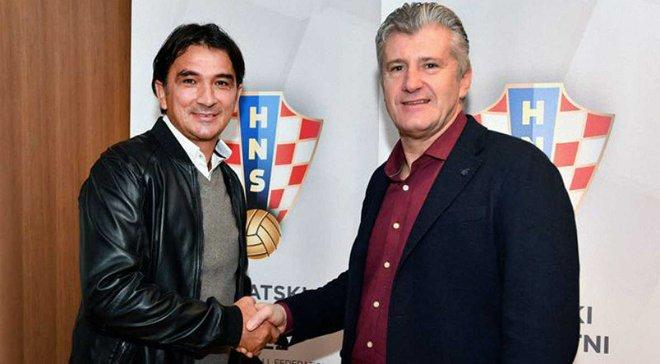 Далич будет главным тренером сборной Хорватии на ЧМ-2018