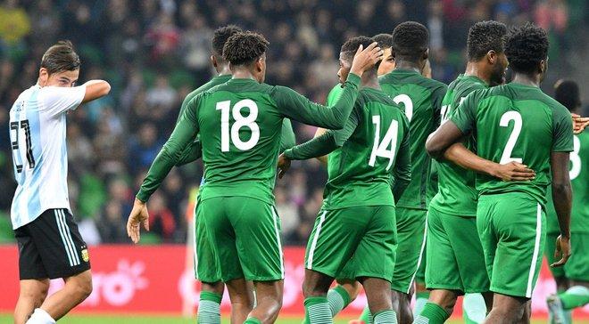Товариські матчі. Нігерія обіграла Аргентину, здійснивши суперкамбек, Ісландія розписала нічию з Катаром