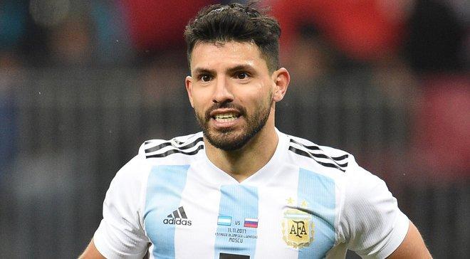 Агуеро знепритомнів у перерві матчу Аргентина – Нігерія та потрапив до лікарні