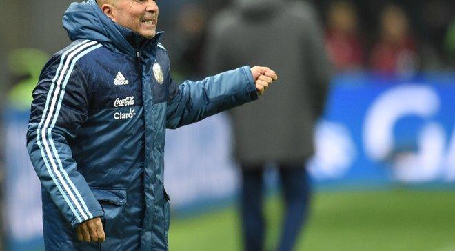 Сампаоли: Есть игроки в сборной Аргентине, которые переживают тяжелые времена