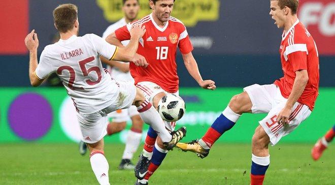 Росія – Іспанія – 3:3 – Відео голів і огляд матчу