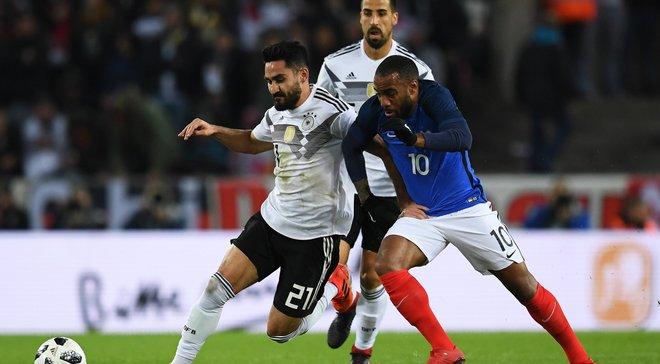 Германия и Франция сыграли вничью в товарищеском матче