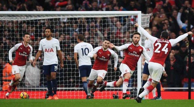 Арсенал на власному полі впевнено переграв Тоттенхем