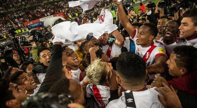 Збірна Перу обіграла Нову Зеландію й вийшла на чемпіонат світу