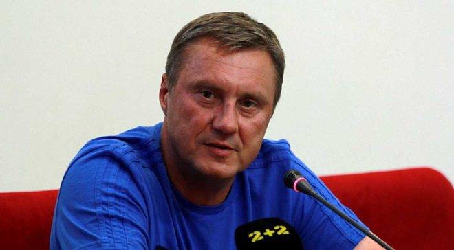 Хацкевич: В матче против Зирки не рассчитываем на Гармаша, Кравца и Сидорчука