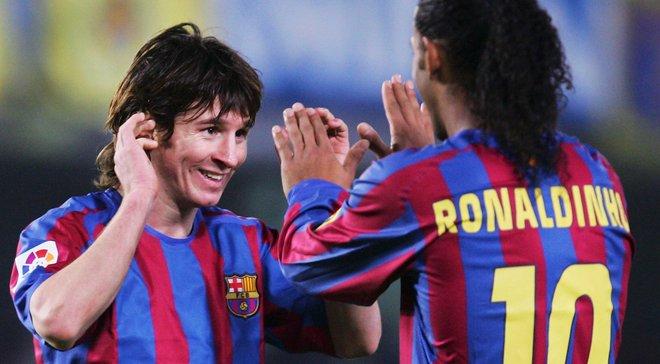 Роналдиньо: Если сердце Месси подскажет покинуть Барселону, то я поддержу Лионеля