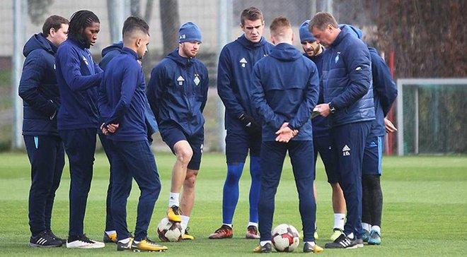 Динамо у повному складі готується до матчу проти Зірки
