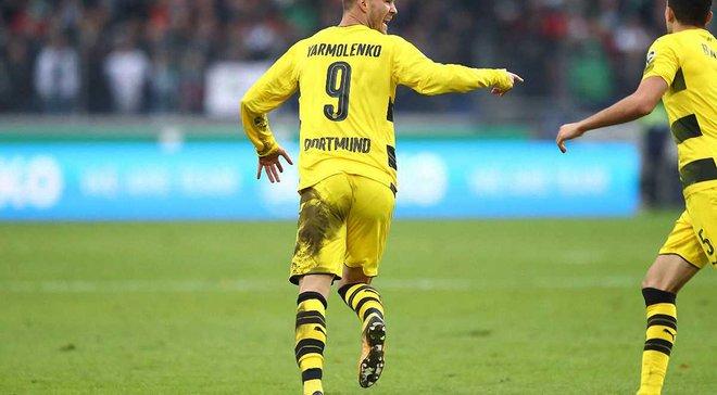 Ярмоленко потрапив у топ-5 атакувальних гравців Бундесліги