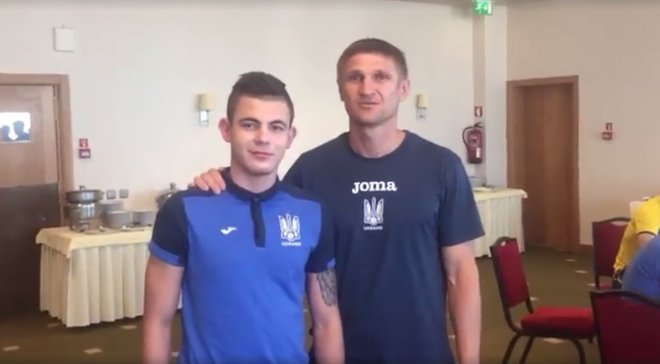 Кобак показал, как проходит посвящение в сборной Украины U-16
