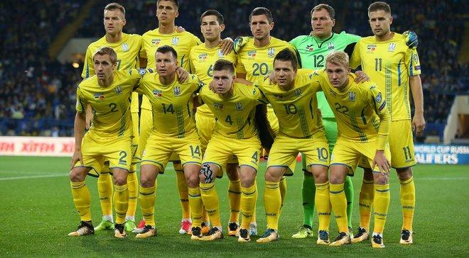 Сборная Украины планирует провести 4 товарищеских матча до начала ЧМ-2018, – СМИ