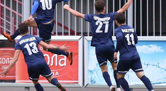 Перша ліга: Десна мінімально обіграла Колос, Полтава розгромила Жемчужину