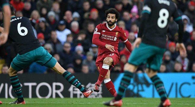 Салах установил голевой рекорд Ливерпуля