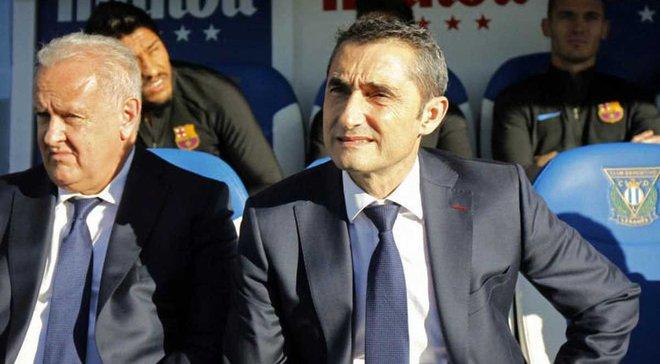 Вальверде: Барселона виглядала не ідеально, Леганес не заслужив на поразку 0:3