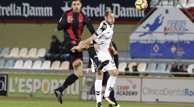 Зозуля забил 4 гол за Альбасете и помог команде добыть ничью