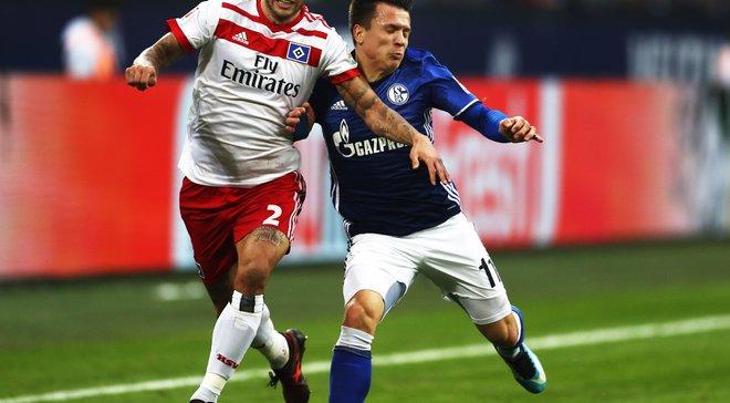 Коноплянка заробив пенальті та віддав асист у матчі Шальке – Гамбург