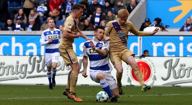 Тащи забил 5-й гол за Дуйсбург во 2-й Бундеслиге