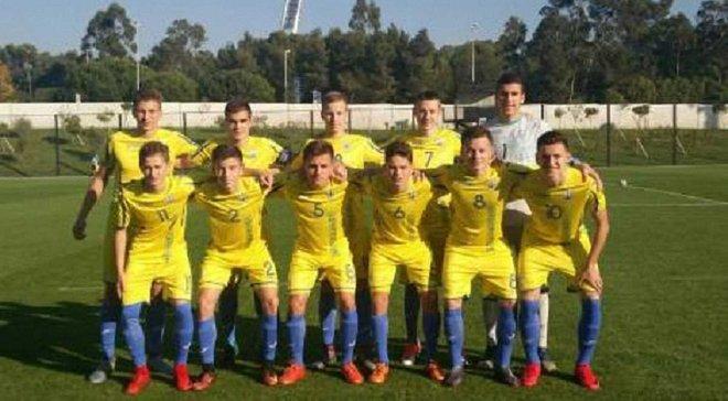 Збірна України U-16 програла Португалії у вирішальній грі товариського турніру
