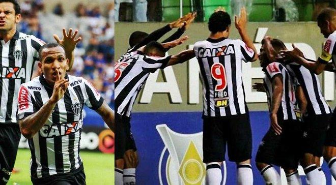 Півзахисник Атлетіко Мінейро Отеро забив дивовижний гол з центру поля у стилі Бекхема