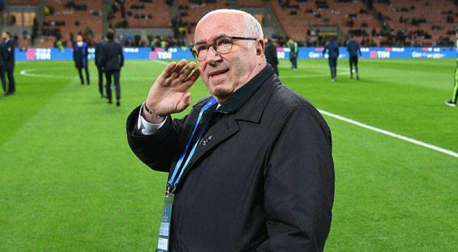 Тавеккио официально покинул пост главы Федерации футбола Италии