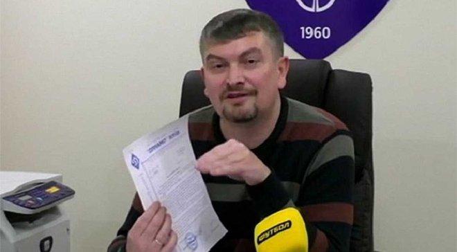 Санін: Маріуполь відправив у Динамо претензію на компенсацію шестизначної суми