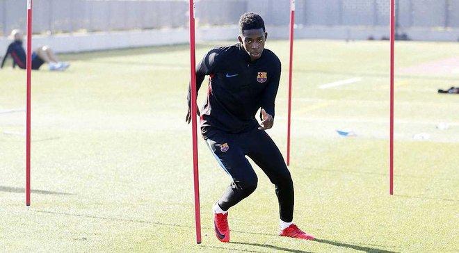 Дембеле активно тренується і може повернутись до матчу Реал – Барселона