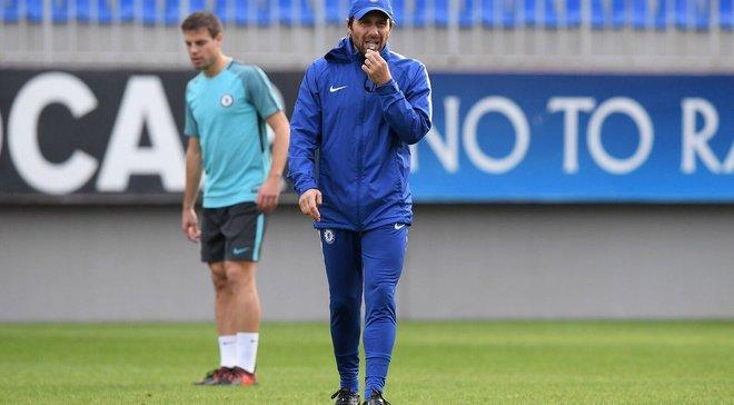 Челси провел тренировку в Баку со 150-а охранниками