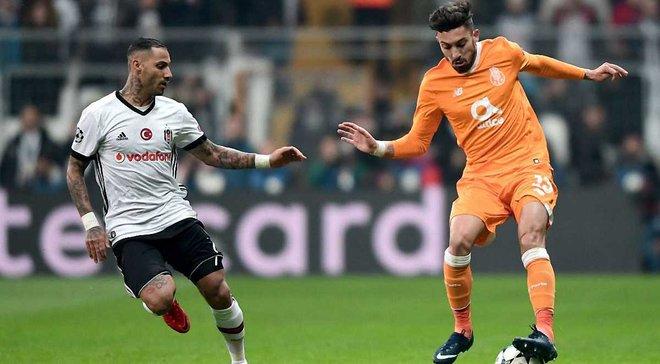 Бешикташ в Стамбулі не програв Порту та вийшов до 1/8 Ліги чемпіонів