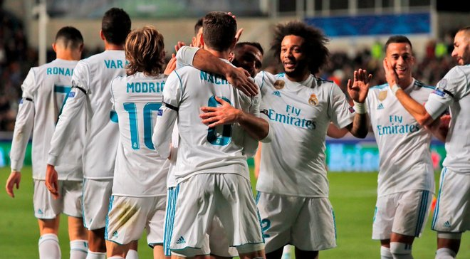 Реал впервые в истории забил 4 гола на выезде в 1-м тайме ЛЧ, а Модрич превзошел достижение Срны