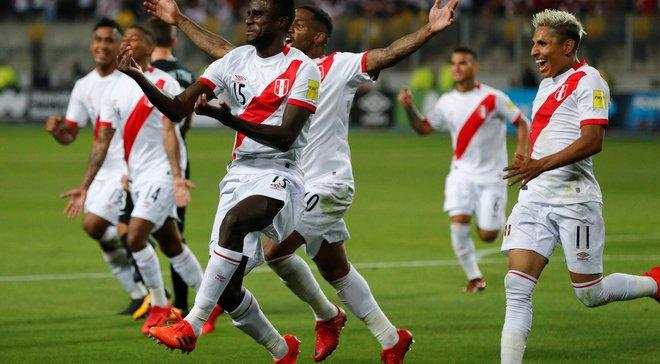 Перу може бути виключена з ЧС-2018 і замінена на Італію