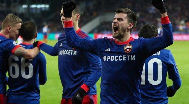 Московський ЦСКА впевнено переміг Бенфіку на домашньому полі