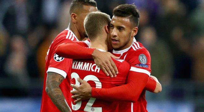 Андерлехт – Бавария – 1:2 – Видео голов и обзор матча