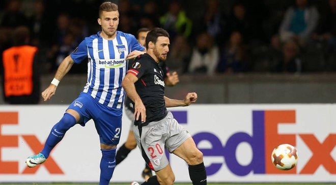 Ліга Європи: Атлетік виграв у Герти, Реал Сосьєдад і Ніцца вийшли в плей-офф