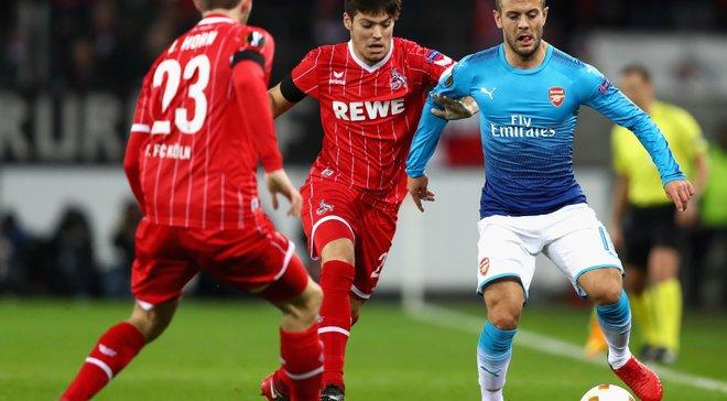 Лига Европы: Арсенал уступил Кельну, Марсель спас ничью в матче против Коньяспора