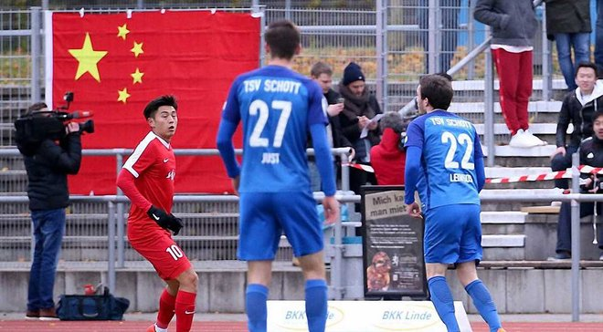 Китай U-20 зі скандалом призупинив виступи в чемпіонаті Німеччини після першого ж матчу