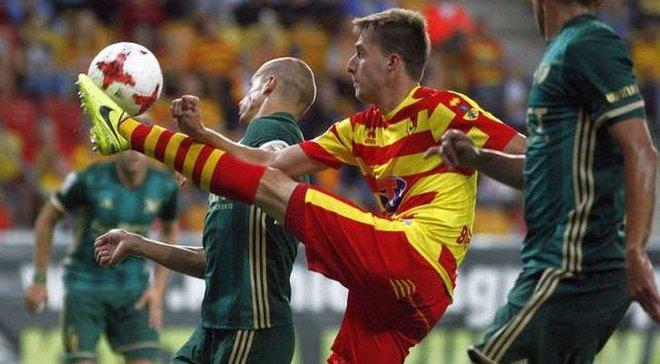 Романчук перехитрив 3-х захисників і забив черговий гол за Ягеллонію, феноменальний Ангуло оформив дубль