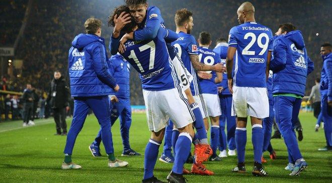 Шальке – вторая команда в истории Бундеслиги, которая отыгралась после счета 4:0