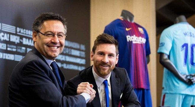Мессі зароблятиме 40 млн євро у рік за новим контрактом з Барселоною, – AS