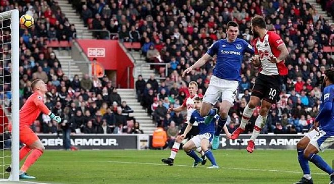 Саутгемптон – Эвертон – 4:1 – Видео голов и обзор матча