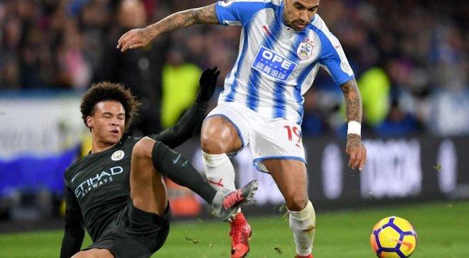 Манчестер Сити на выезде одержал трудную победу над Хаддерсфилдом
