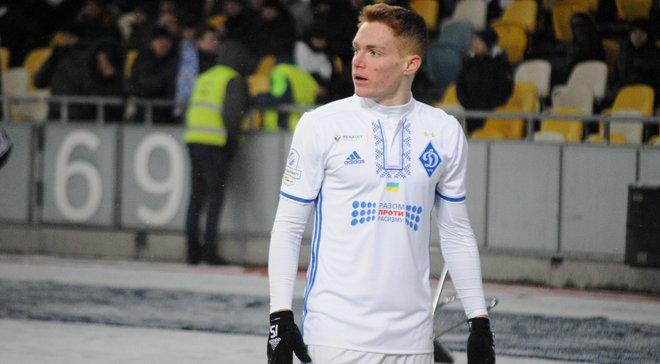 Циганков: Приємно грати з вихованцями Динамо